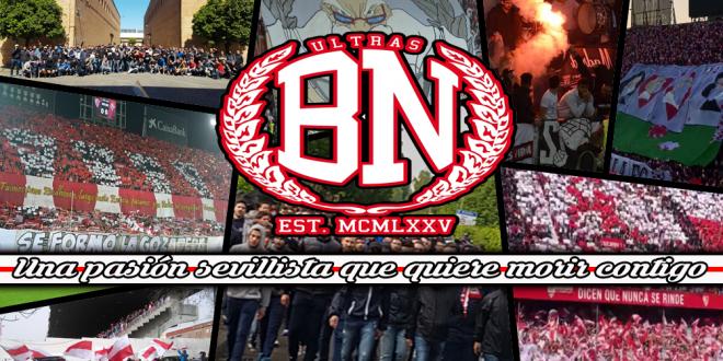 Biris Norte. Ultras Sevilla. 2016-2017